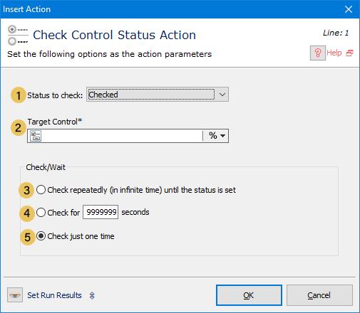 Check Control Status