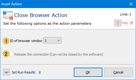 Close Browser
