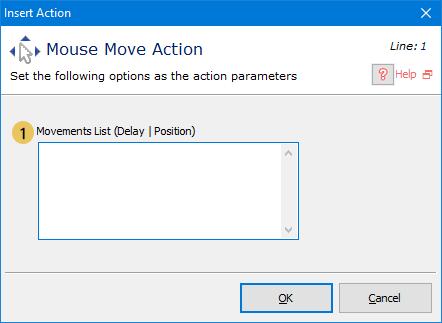اکشن Mouse Move